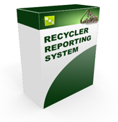 Recycler Reporting System - Home Image